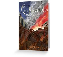 Les Miserables Greeting Card