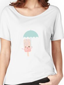 Umbrella Ice Cream  Women's Relaxed Fit T-Shirt