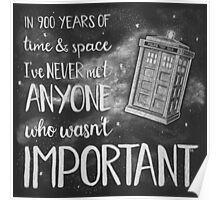 Doctor Who, 900 Years of Time & Space Poster