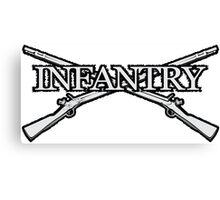 Infantry Canvas Print