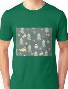Winter Pattern Unisex T-Shirt