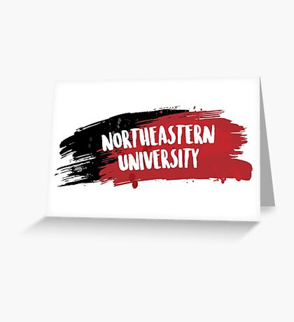 Northeastern University Greeting Card