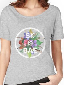 SK IS BAE Women's Relaxed Fit T-Shirt