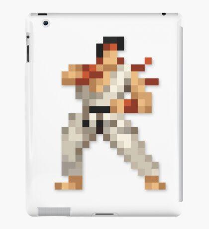 Ryu 8-bit Streetfighter iPad Case/Skin