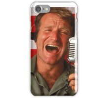 Good Morning Robin Williams  iPhone Case/Skin