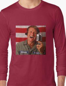 Good Morning Robin Williams  Long Sleeve T-Shirt
