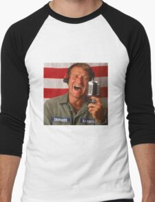 Good Morning Robin Williams  Men's Baseball ¾ T-Shirt