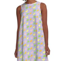 citrus dreams A-Line Dress
