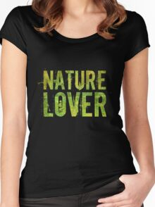 Nature Lover Women's Fitted Scoop T-Shirt