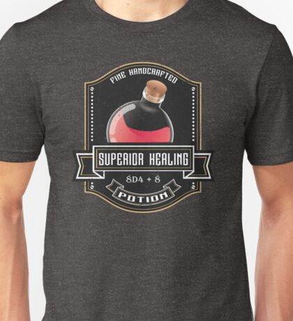 D&D Tee - Superior Healing Unisex T-Shirt