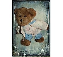 Please Don't Forget Me ~ Your Teddy Photographic Print