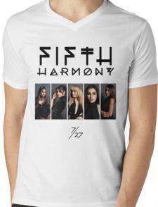Fifth Harmony 7/27 Portrait #BlackText Mens V-Neck T-Shirt