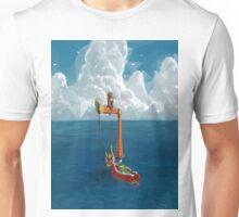 Wind Waker-Lone Ocean  Unisex T-Shirt