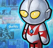 ULTRAMAN POOTERBELLY by Pat McNeely