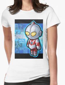ULTRAMAN POOTERBELLY Womens Fitted T-Shirt