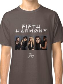 Fifth Harmony 7/27 Portrait #WhiteText Classic T-Shirt