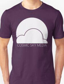 Cosmic Sky Media Logo (White) Unisex T-Shirt