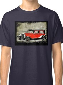 Vintage Car Red Classic T-Shirt