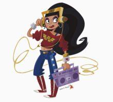 Hip Hop Wonder Woman Kids Clothes