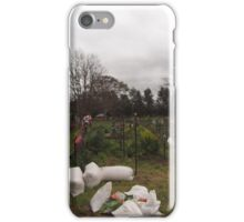 Community garden Canberra iPhone Case/Skin