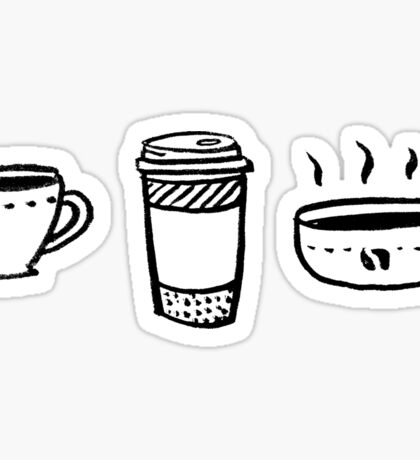 Coffee!  Sticker