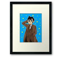 Doctor Who - David Tennant ver. 1 Framed Print