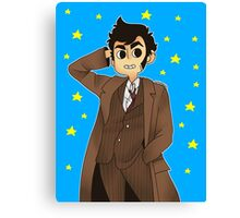 Doctor Who - David Tennant ver. 1 Canvas Print