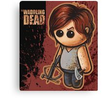 """WADDLING DEAD """"Bow Hunter"""" POOTERBELLY Canvas Print"""
