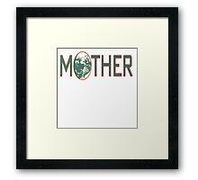 Mother earthbound Framed Print