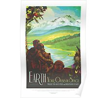 Explore Earth - Travel Poster Poster