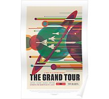 Space Exploration - The Grand Tour Poster