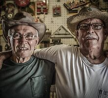 Old Buddies by Randy Turnbow
