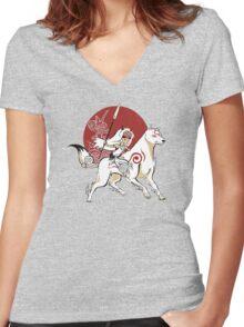 Monokami Women's Fitted V-Neck T-Shirt