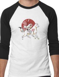 Monokami Men's Baseball ¾ T-Shirt