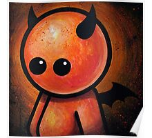 CUTE LITTLE DEVIL POOTERBELLY Poster