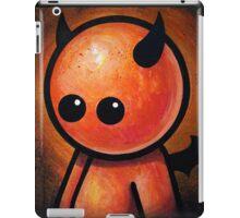 CUTE LITTLE DEVIL POOTERBELLY iPad Case/Skin
