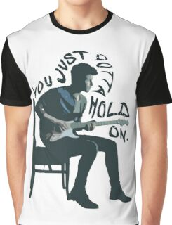 Shawn Mendes Hold On Typography Graphic T-Shirt