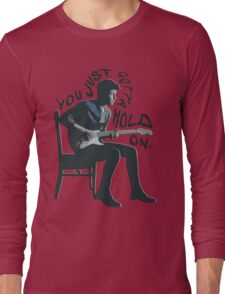 Shawn Mendes Hold On Typography Long Sleeve T-Shirt