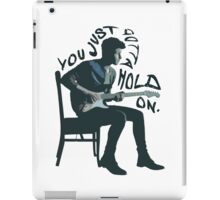 Shawn Mendes Hold On Typography iPad Case/Skin