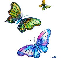 Butterflies - Follow the Leader by Linda Callaghan