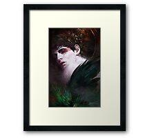 BBC Merlin: Raven Child Framed Print