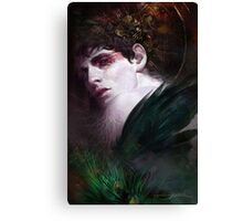 BBC Merlin: Raven Child Canvas Print