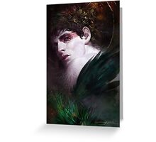 BBC Merlin: Raven Child Greeting Card