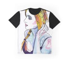 Girl with plait Graphic T-Shirt