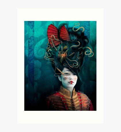 Queen of the Wild Frontier Art Print