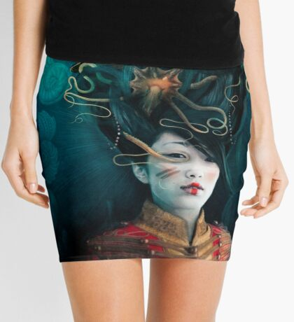 Queen of the Wild Frontier Mini Skirt