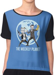 The Weekly Planet Chiffon Top