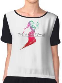 Aerith's Lifestream Chiffon Top