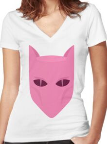 Murder Monarch Women's Fitted V-Neck T-Shirt