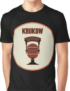 SF Giants Announcer Mike Krukow Pin Graphic T-Shirt